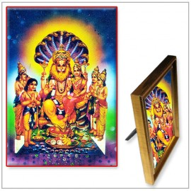 Lord Narsimha Laxmi Photo